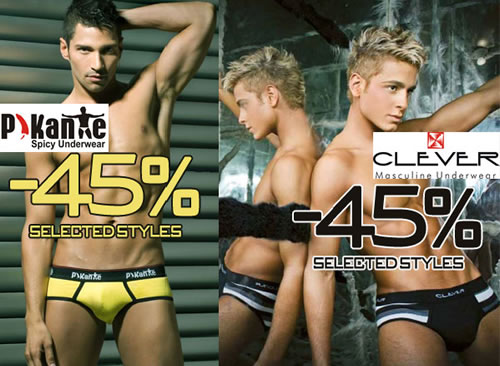 Pikante and Clever underwear on sale at Wyzman