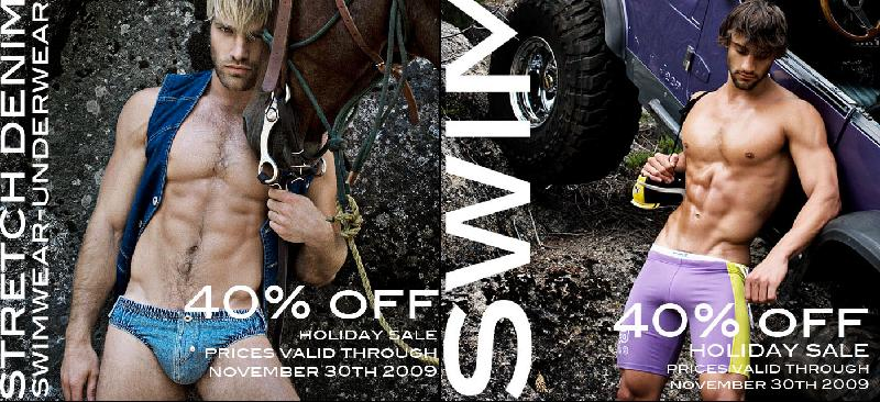 ALL SWIMWEAR 40% OFF at Rufskin
