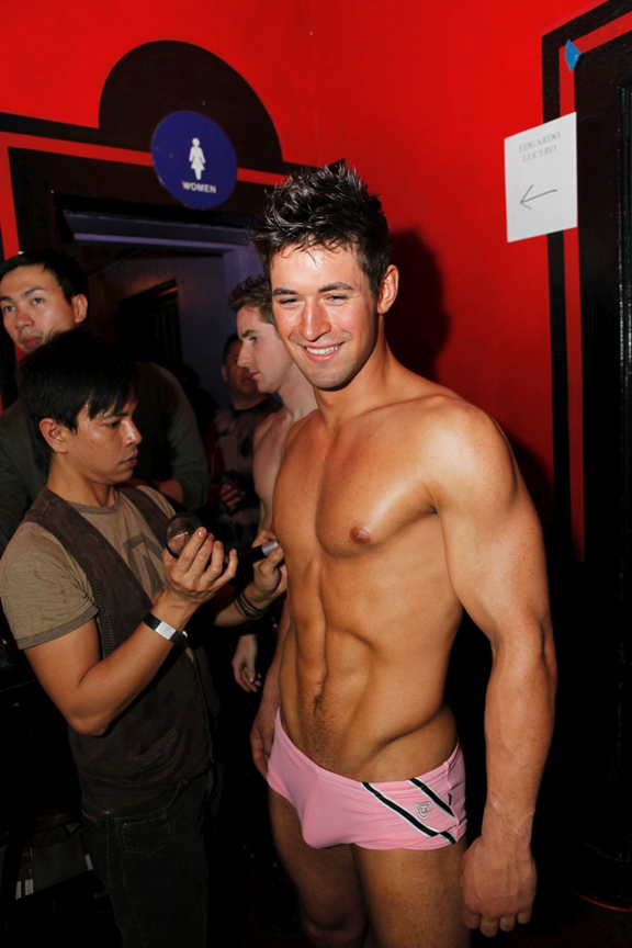 Backstage at Timoteo!
