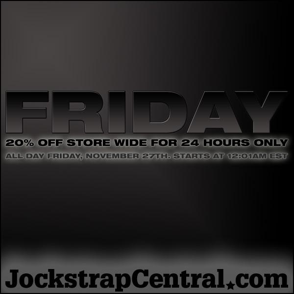 JOCKSTRAP CENTRAL BLACK FRIDAY EVENT - 20% OFF STORE WIDE