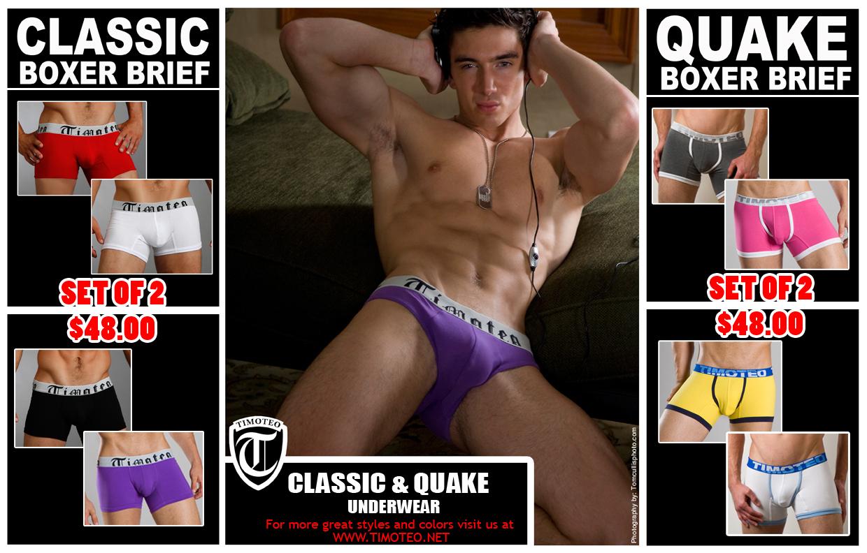 1 + 1 = Perfect Pair - Timoteo Underwear