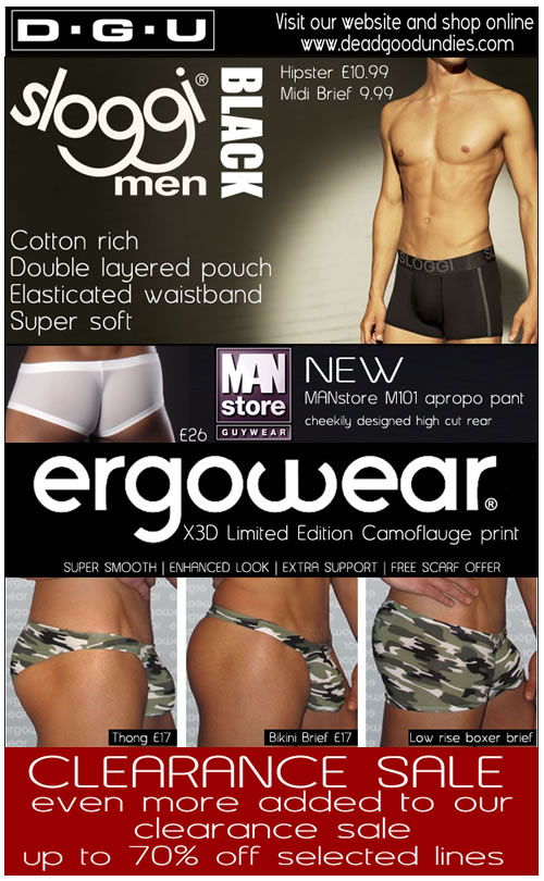 New Sloggi Ergowear and even more clearance ranges at Dead Good Undies