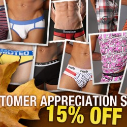 Malestrom is having a Customer Appreciation Sale!