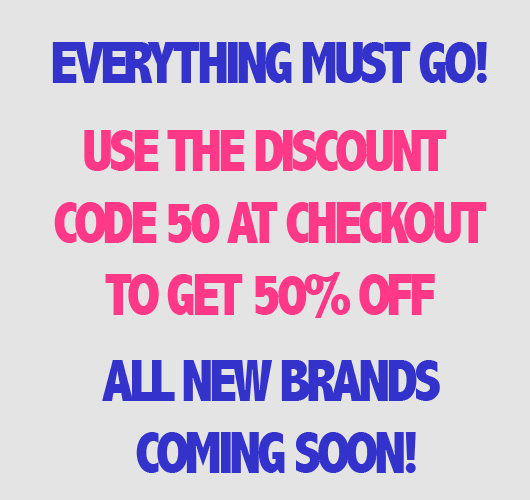 50% off at HisTrunks.com - Everything must go!