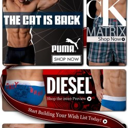 New Arrivals from CK, Puma and Diesel at Men's Underwear Store