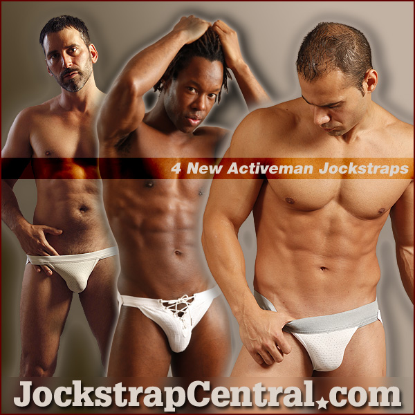 New Activeman Jockstrap Styles at Jockstrap Central