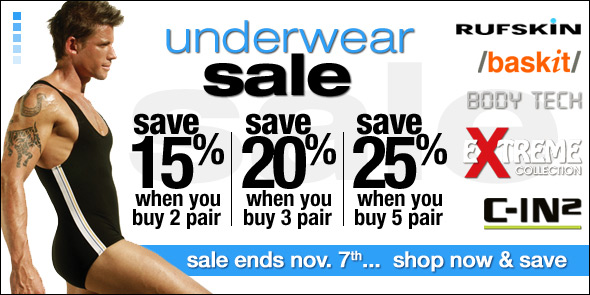Take Up To 25% Off All Underwear Styles at 10 Percent.com