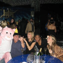 SPOTTED: Party Animal- Giant Pink Pig in Tighty-Whities Invades NYC Nightlife