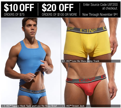 New C-IN2 Pop Colors + Take $20 Off Your Order at UnderGear