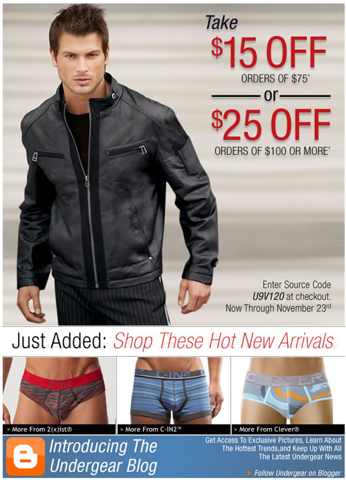 Last Chance To Take Up To $25 Off Your Order at UnderGear