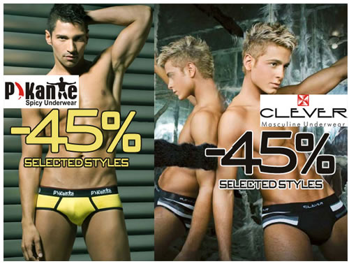 A few Days Left Pikante and Clever, up to 45% on selected items at Wyzman
