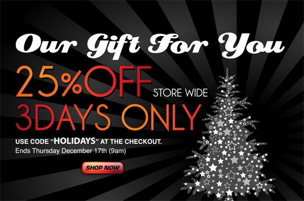 C-IN2 25% off 3 Days Only
