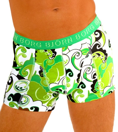Underwear of the Week - Bjorn Borg Stretch Psychedelic Trunk