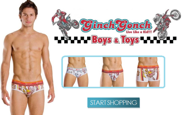 Ginch Gonch is BACK! Plus New Arrivals from Cocksox at Below the Belt