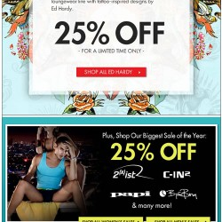New at Freshpair! Ed Hardy 25% Off – Limited Time Only