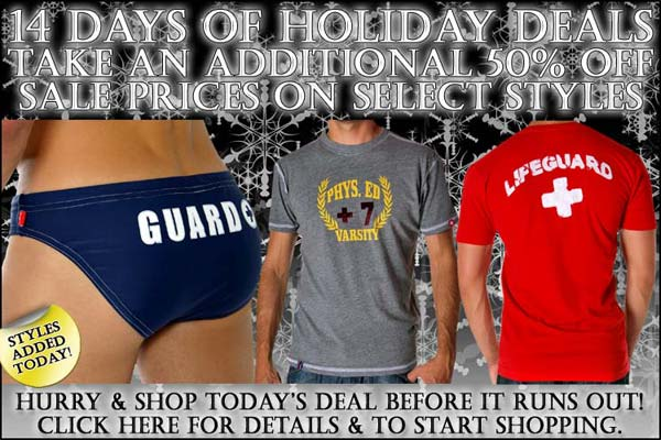 Andrew Christian 50% Off Items - Days Of Holiday Deals: Day 8