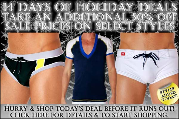 Sale 50% Off - Days of Deals at Andrew Christian: Day 12