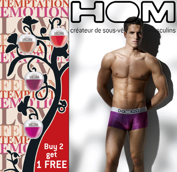 New HOM fruits of temptation - buy 2 get 1 free at Dead Good Undies