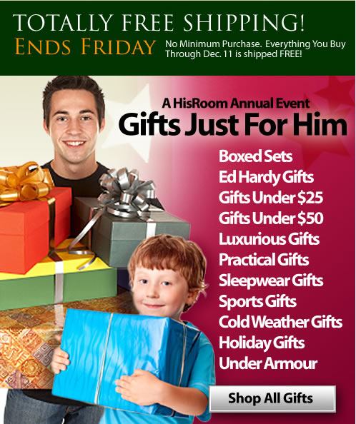 Great Holiday Sales From HisRoom
