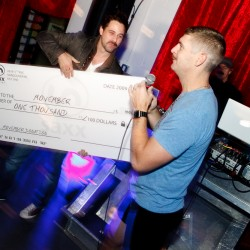 SAXX RAISES THOUSANDS FOR MOVEMBER