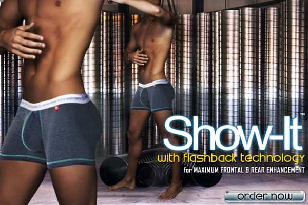 Andrew Christian Total Body Enhancement + New Swimwear at Below the Belt