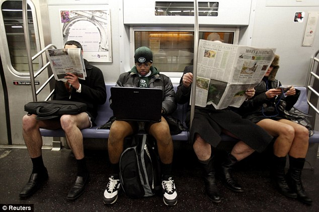 9th Annual No Pants Subway Day
