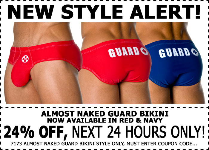 Andrew Christian New Almost Naked Guard Bikini - 24% Off 1 Day Only