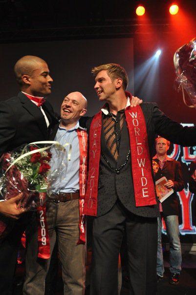 Mr. Gay South Africa, Charl van den Berg, wins the Worldwide Mr. Gay 2010 Title