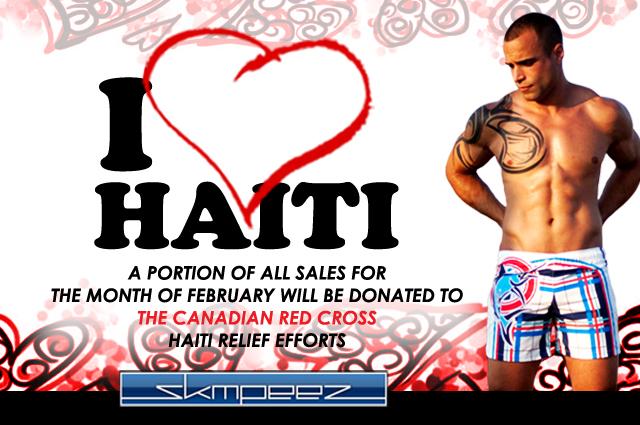 Skmpeez Gives to Haiti