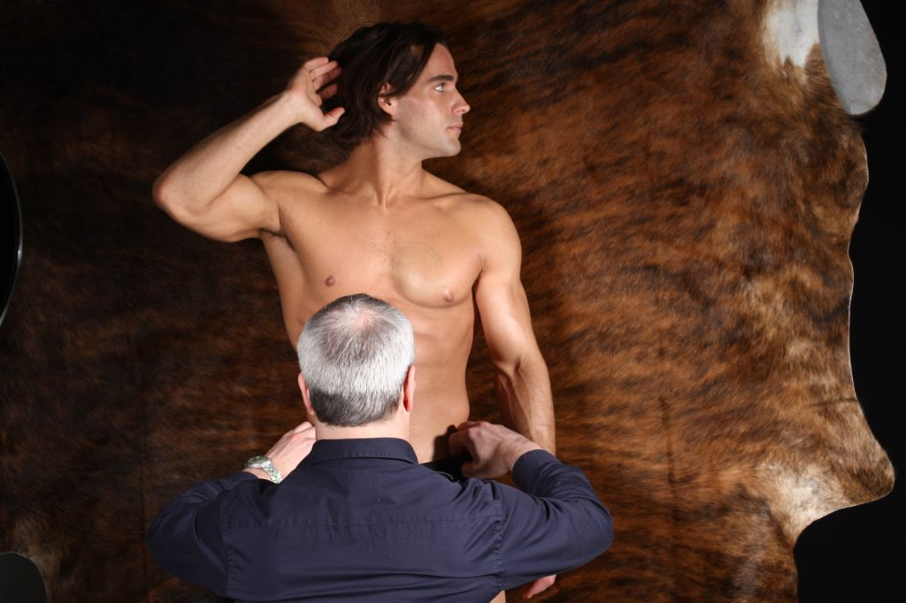 Behind the Scenes Gregg Homme Photoshoot