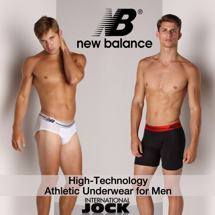 New Balance Underwear Collection Available Now at International Jock
