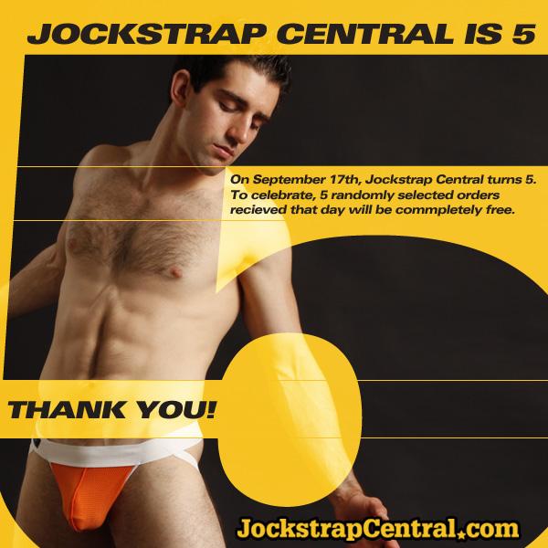 Jockstrap Central Turns Five!