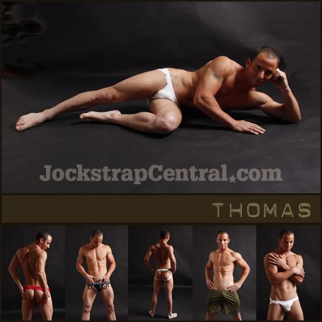 JOCKSTRAP CENTRAL MODEL THOMAS PLUS 15% OFF STORE WIDE SALE