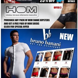 Special offers update and new Bruno Banani at Dead Good Undies