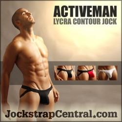JUST LAUNCHED: ACTIVEMAN LYCRA CONTOUR JOCKS