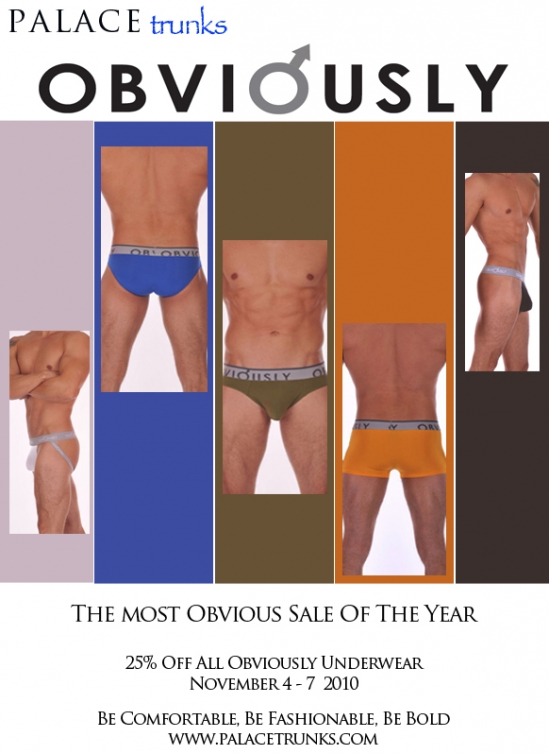 The Most Obvious Sale Of The Year at Palace Trunks