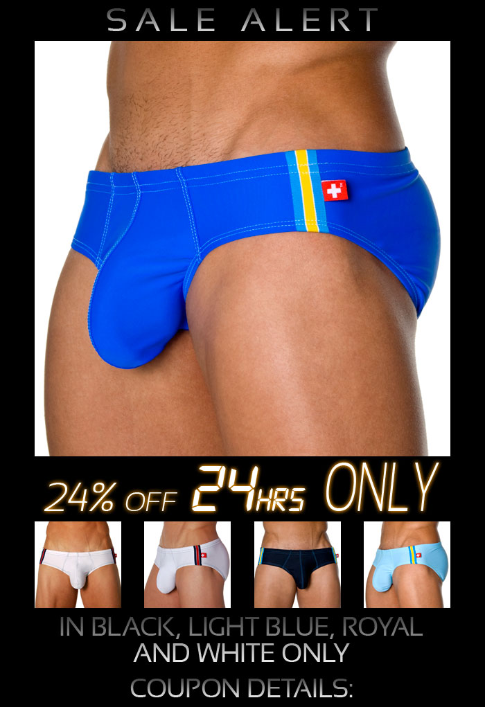 Almost Naked Swimwear 24% Off Next 24 Hrs at AndrewChristian.com