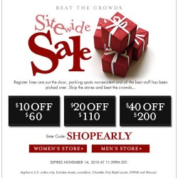 Sitewide Savings – $10, $20 or $40 Off. Beat the Crowds, Shop Now with Fresh Pair