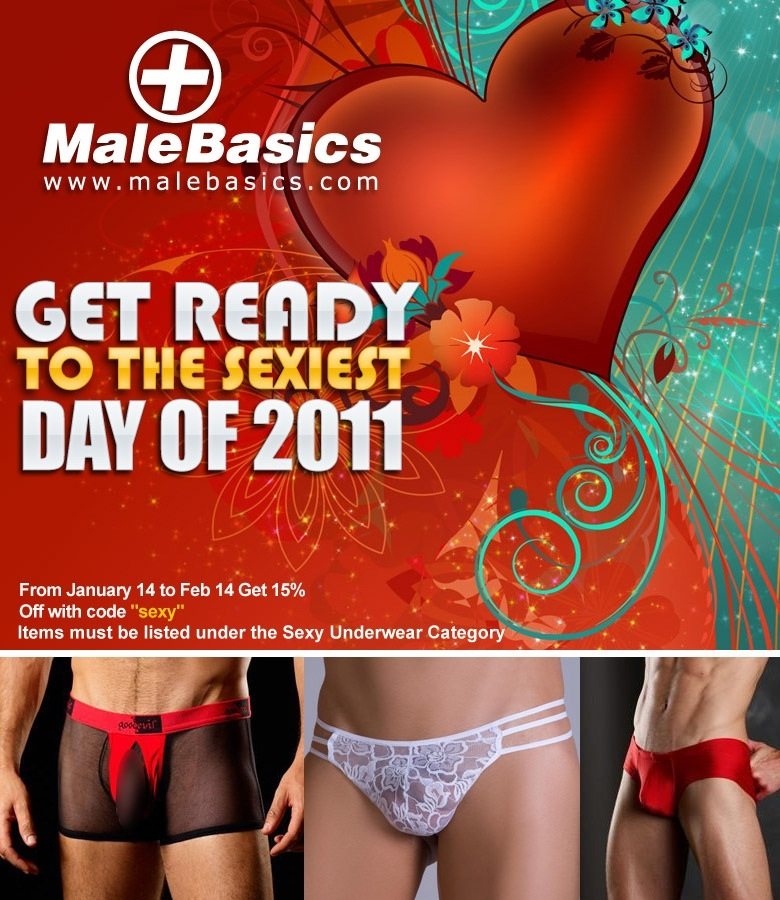 Get Ready For Valentines Be Sexy 15% Off On Thongs, Lace, Bodies