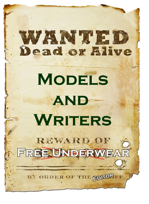 Models and Content Writers Wanted