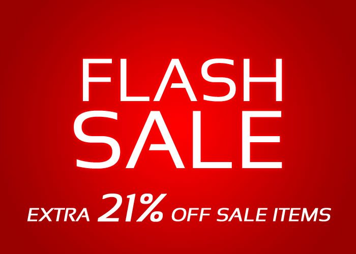 FLASH SALE at Andrew Christian - Save 21% Off All Sale Items - 3 Days Only!