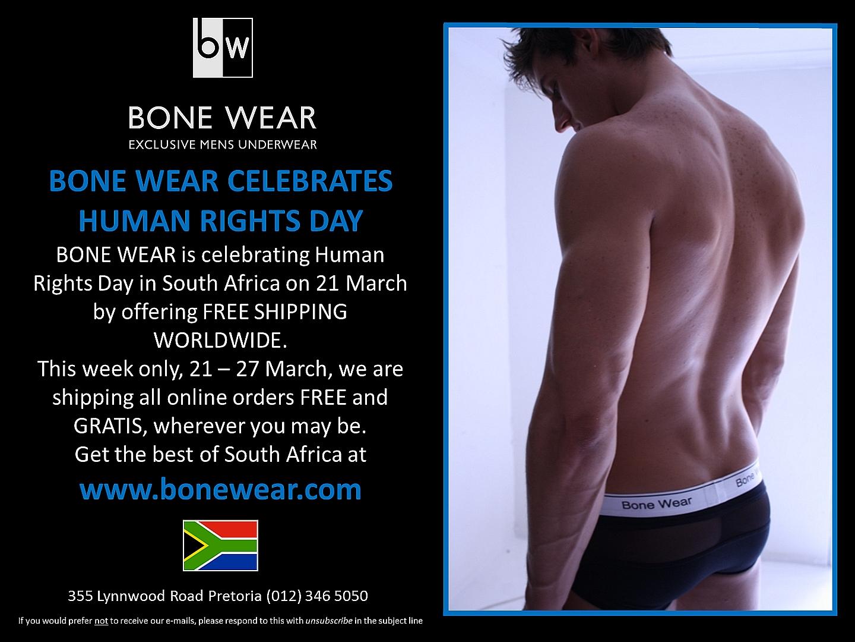 Bone Wear Celebrates Human Rights Day