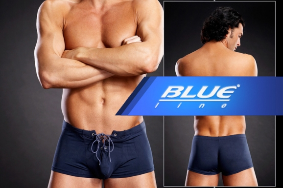 Blue Line - Affordable. Sexy. Fun at His Trunks