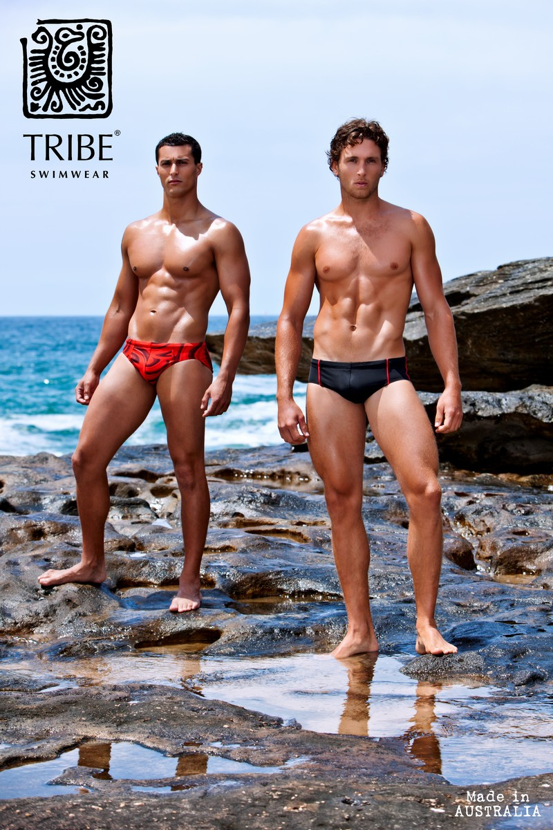 Brief Distraction featuring a TBT from Tribe Swimwear