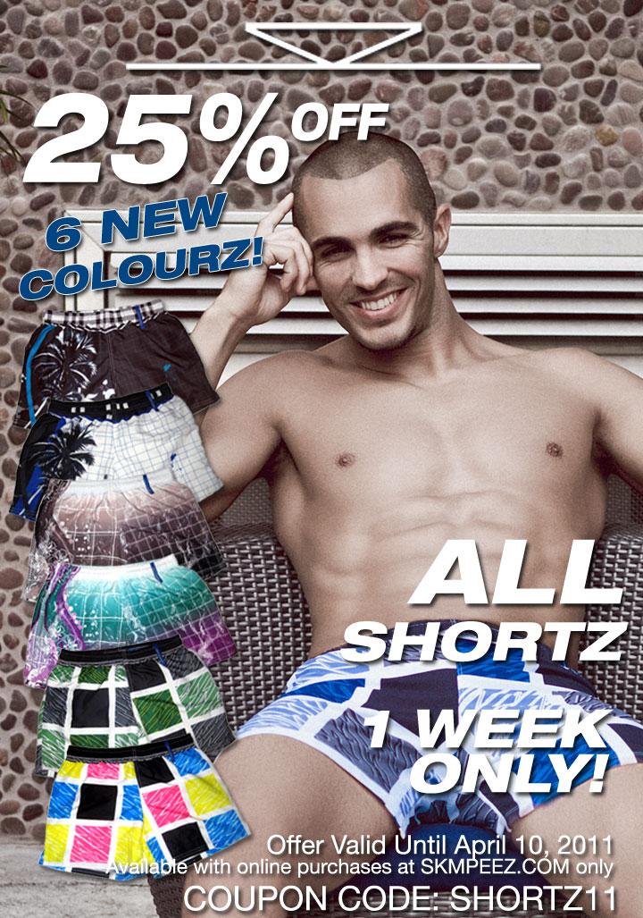 SKMPEEZ Shortz Sale
