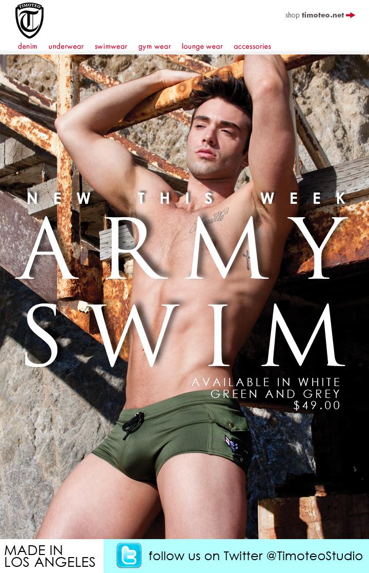 New Timoteo Army Swim