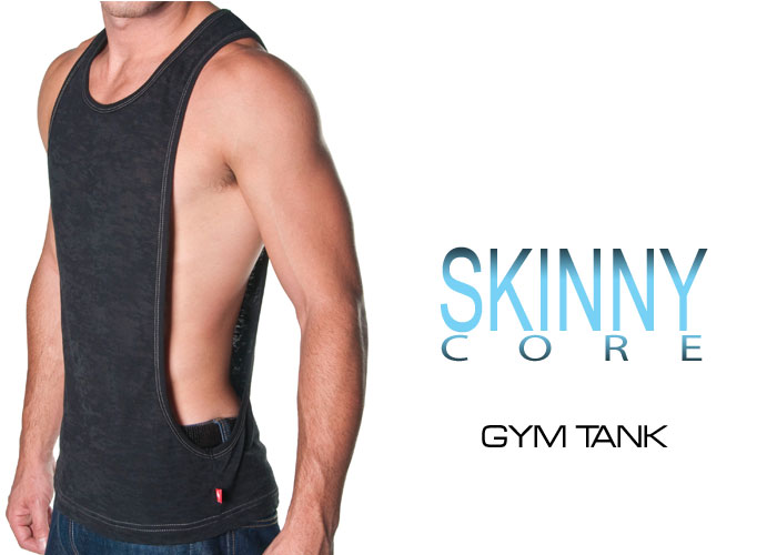 Andrew Christian's New Skinny Core Gym Tank - Now Shipping