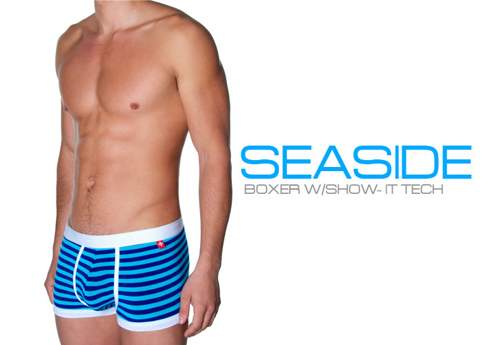 Andrew Christian's New Seaside Boxer w/ Show-It Tech