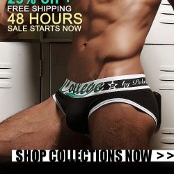 Pipe Underwear 25% off + Free Shipping – 48 hours only