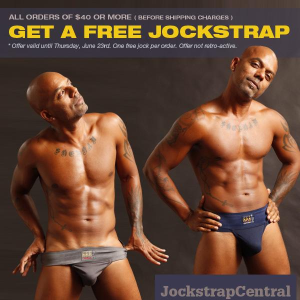 FREE JOCKSTRAP OFFER AT JOCKSTRAP CENTRAL